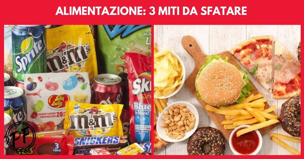 Alimentazione: 3 miti da sfatare