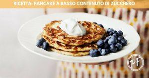 Pancake a basso contenuto di zucchero