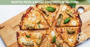 Pizza a basso contenuto di zuccheri
