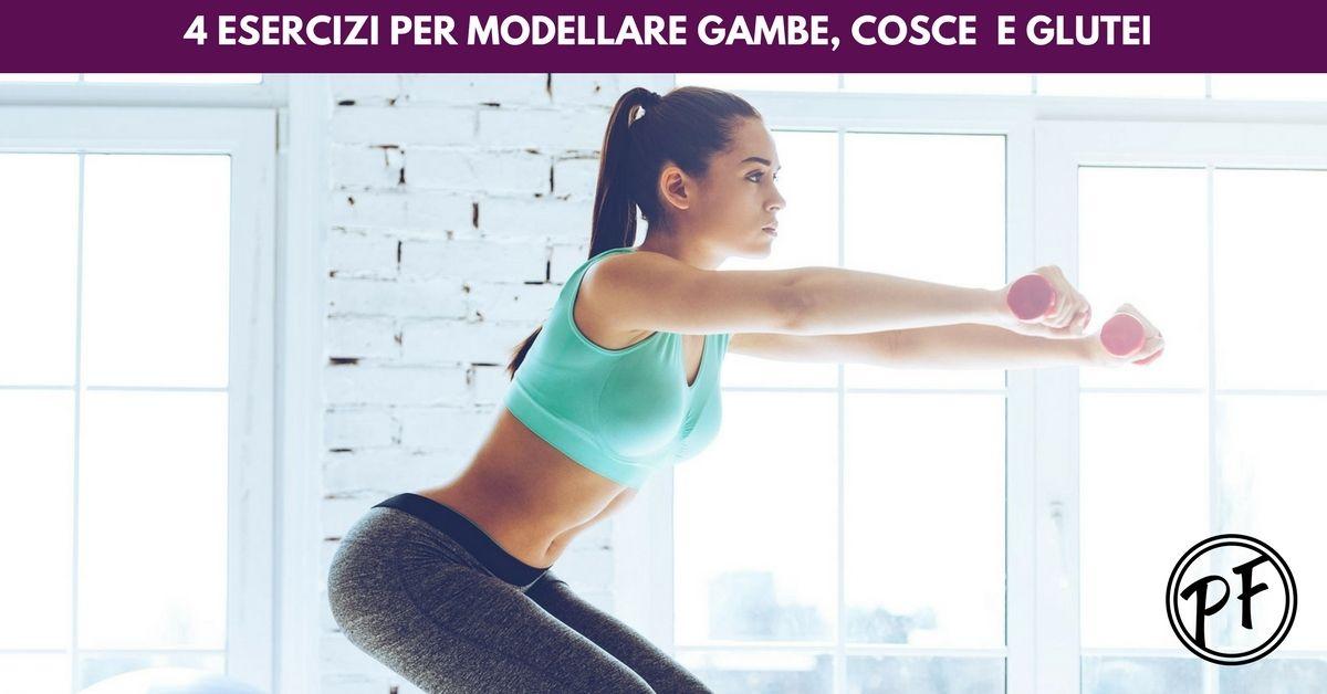 Esercizi per perdere peso alle gambe