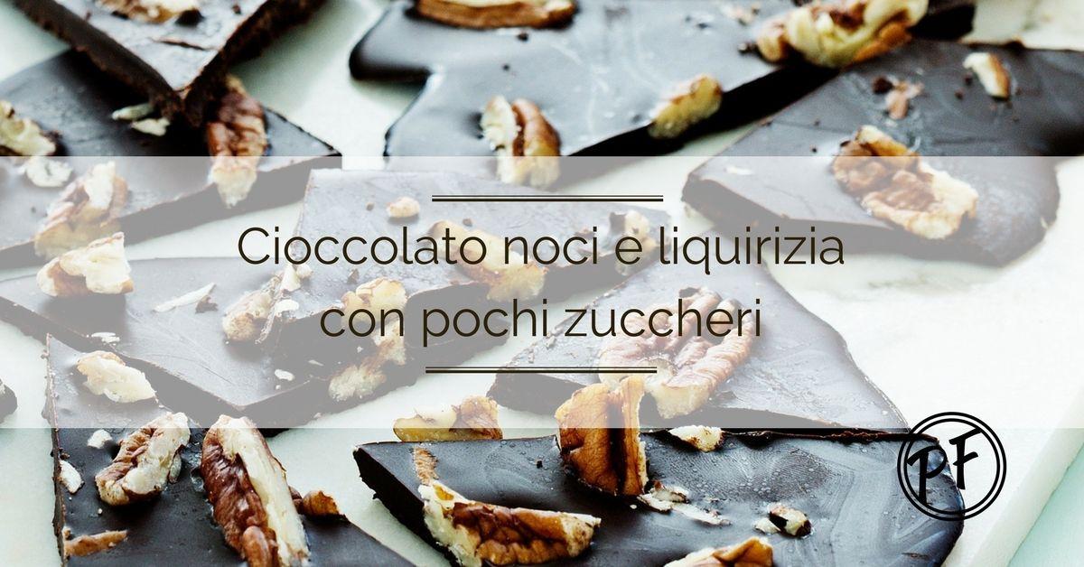 Cioccolato noci e liquirizia si sciolgono in bocca come una caramella